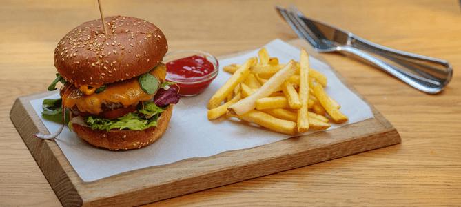 Parkcafe Berlin Burger
