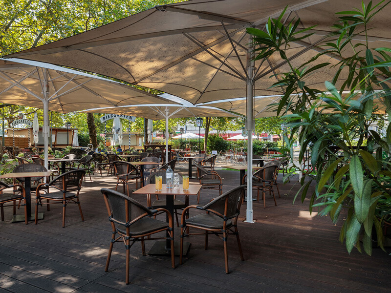 Parkcafe Berlin Outdoorlounge